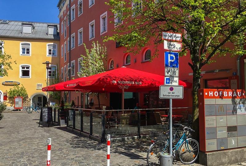 Büro Gerthner-Thieltges Hofbräu-Komplex Rosenheim